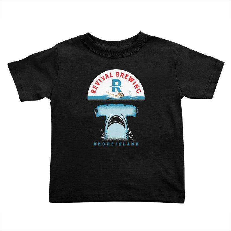 Revival HAMR Swim Kids Toddler T-Shirt by Revival Brewing