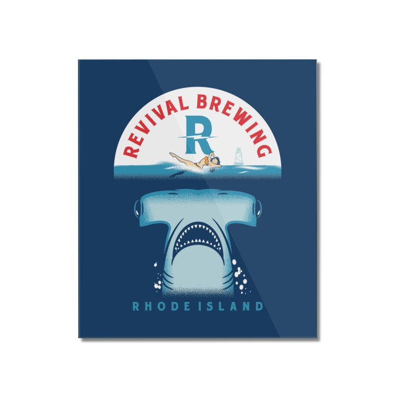 Revival HAMR Swim Home Mounted Acrylic Print by Revival Brewing