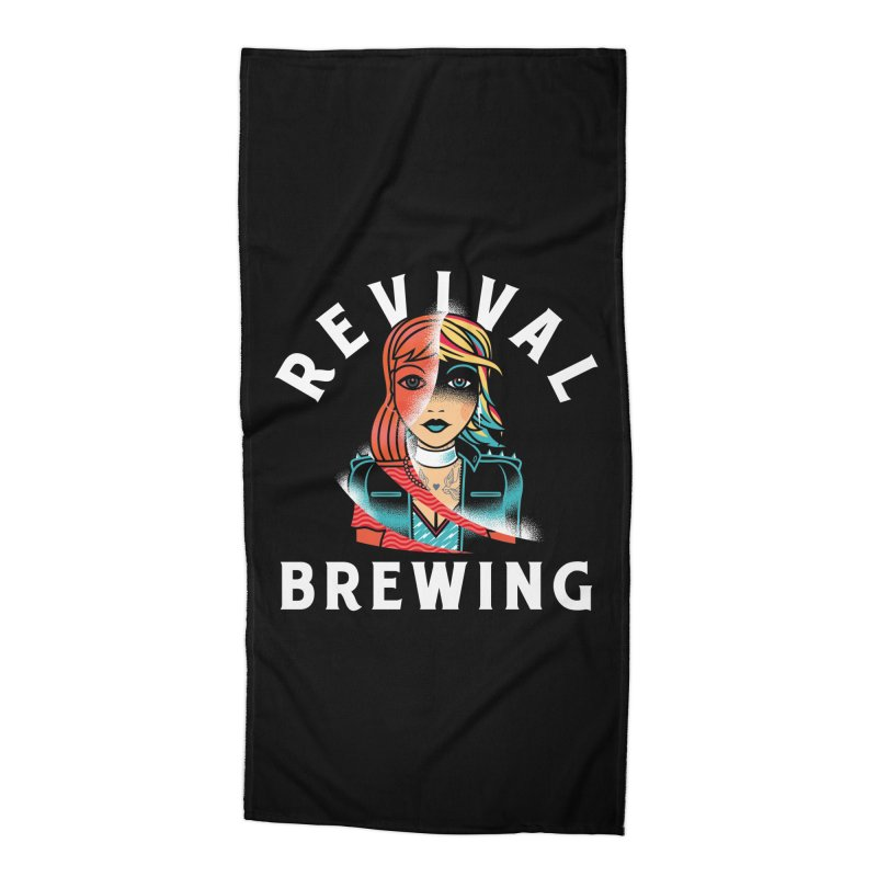 Revival Cindee Accessories Beach Towel by Revival Brewing