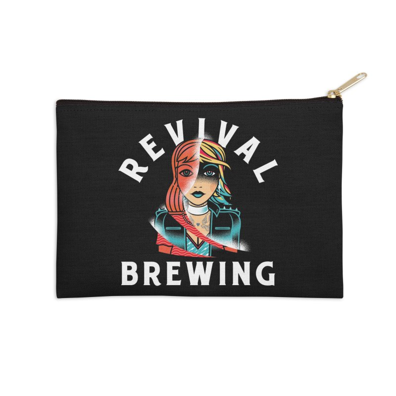 Revival Cindee Accessories Zip Pouch by Revival Brewing