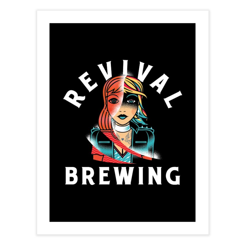 Revival Cindee Home Fine Art Print by Revival Brewing