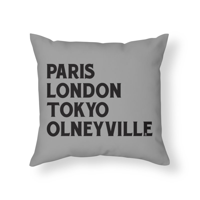Revival Traveler Home Throw Pillow by Revival Brewing