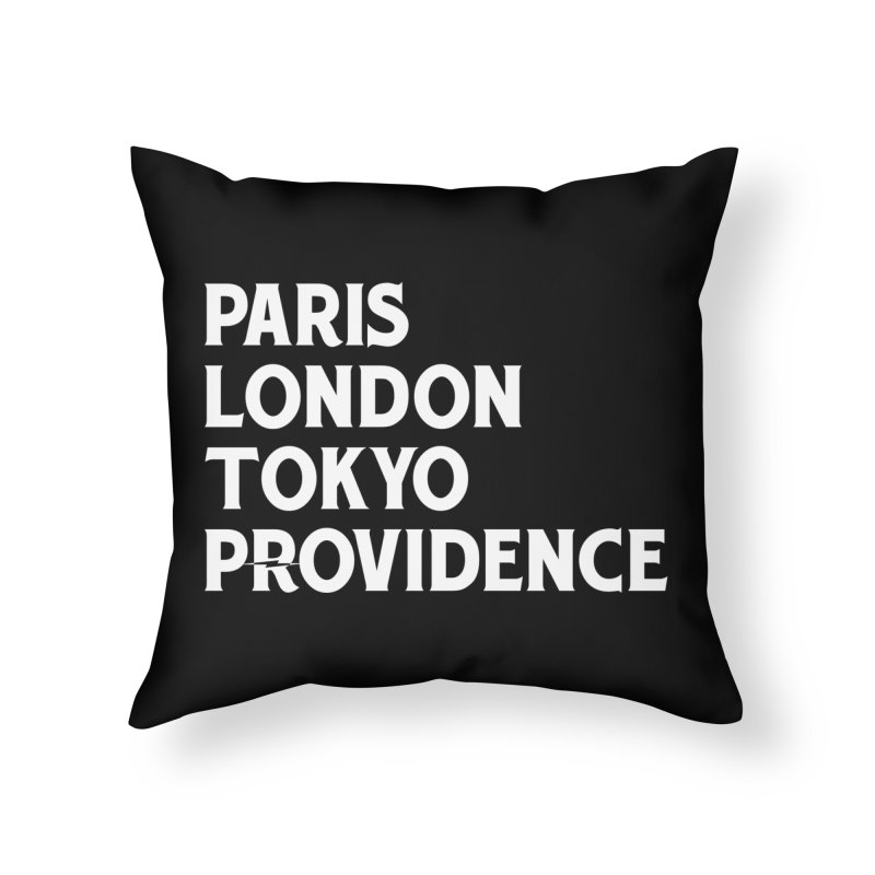Revival Traveler Bright Home Throw Pillow by Revival Brewing