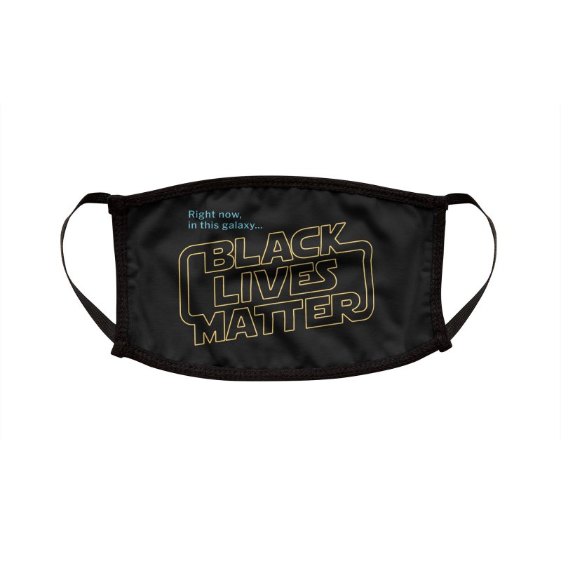Black Lives Matter Accessories Face Mask by Revival Brewing