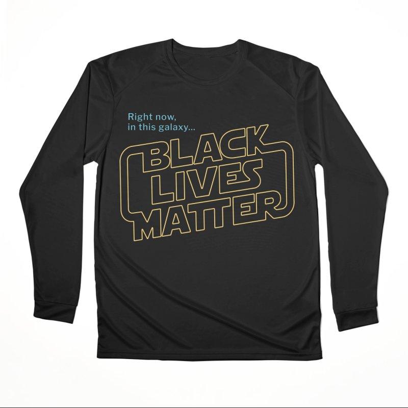 Black Lives Matter Women's Longsleeve T-Shirt by Revival Brewing