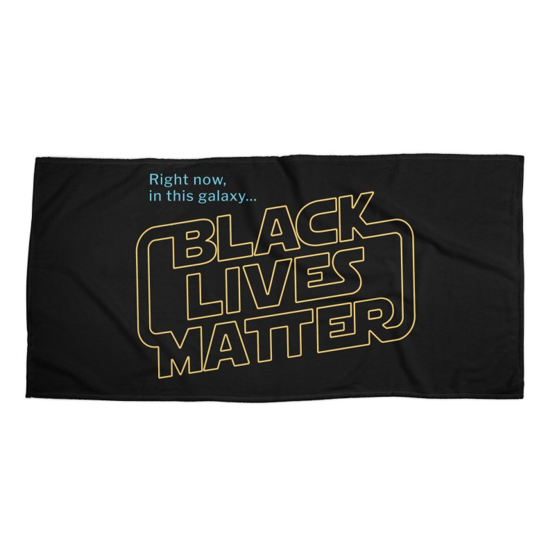 Black Lives Matter Accessories Beach Towel by Revival Brewing