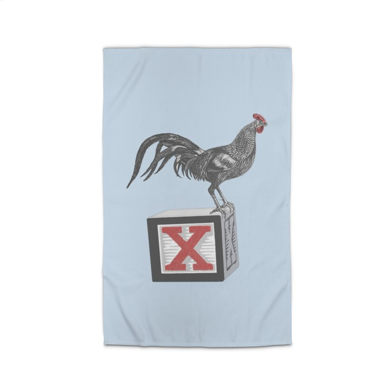 Coq Bloq Blue Accessories Home Rug by Revolution Art Offensive