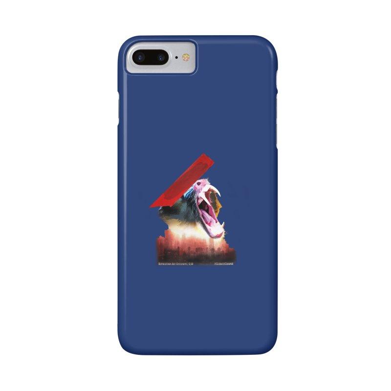 Scream Accessories in iPhone 7 Plus Phone Case Slim by Revolution Art Offensive