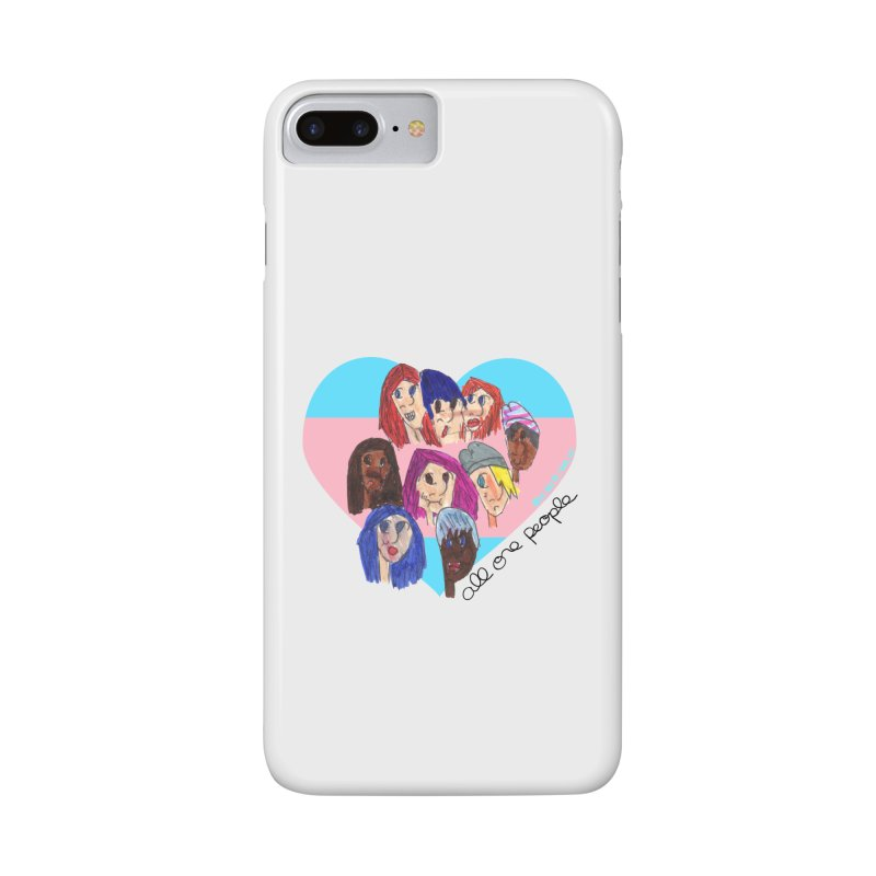 All One People for the Trevor Project in iPhone 7 Plus Phone Case Slim by Revolution Art Offensive