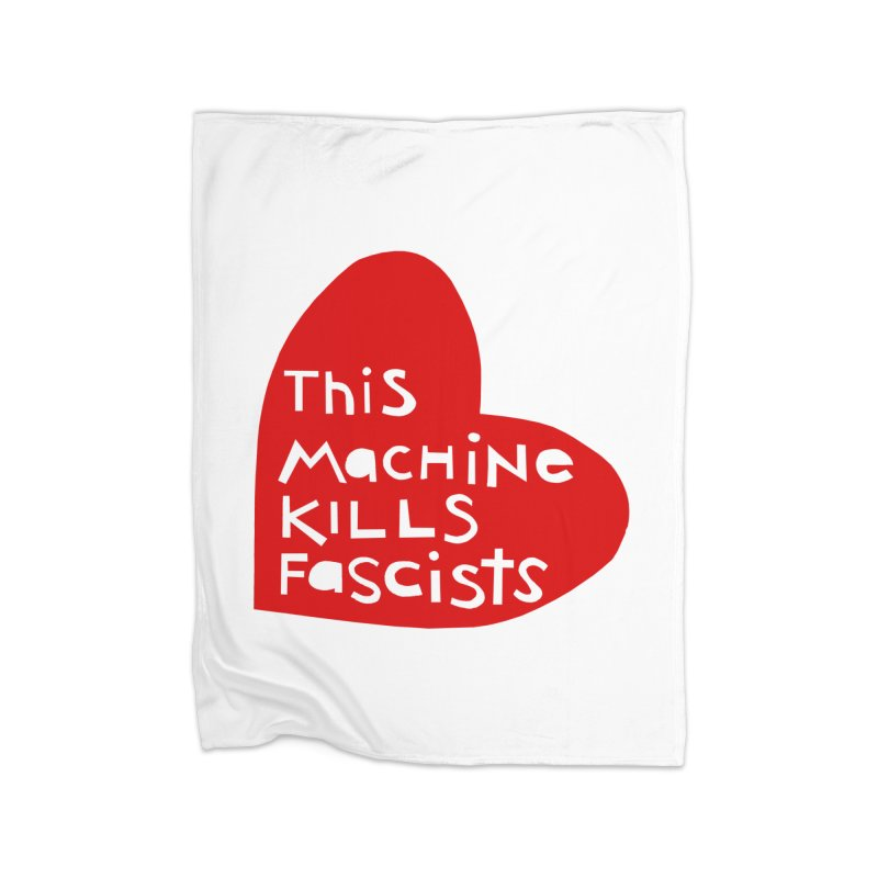 This Machine Heart Home Blanket by Revolution Art Offensive