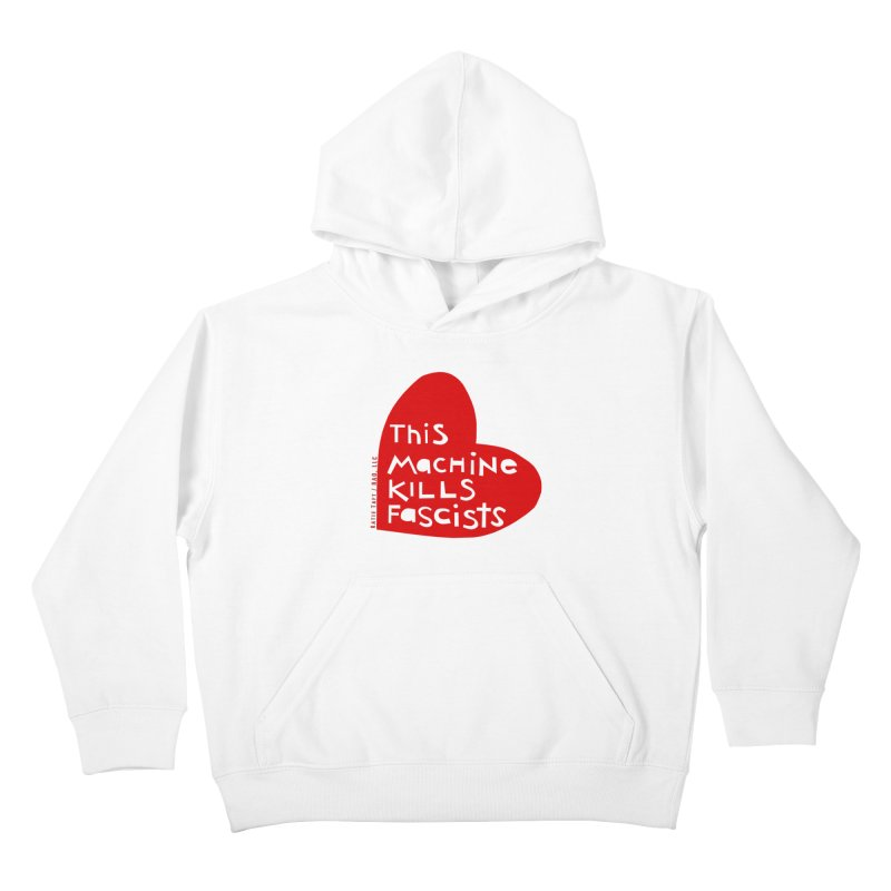 This Machine Heart Kids Pullover Hoody by Revolution Art Offensive