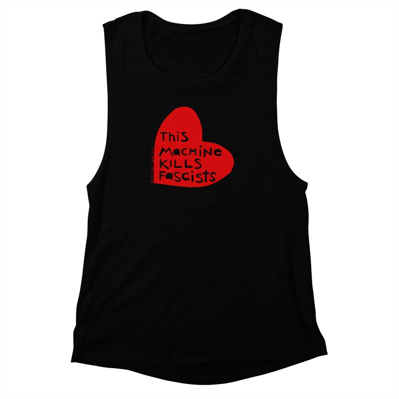This Machine Heart Women's Muscle Tank by Revolution Art Offensive