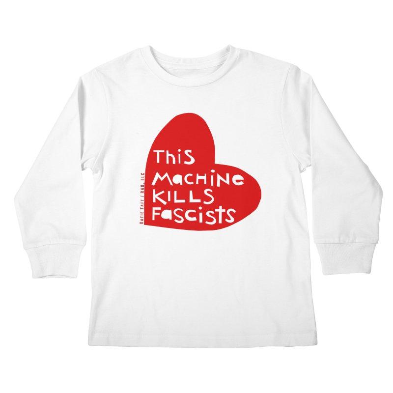 This Machine Heart Kids Longsleeve T-Shirt by Revolution Art Offensive