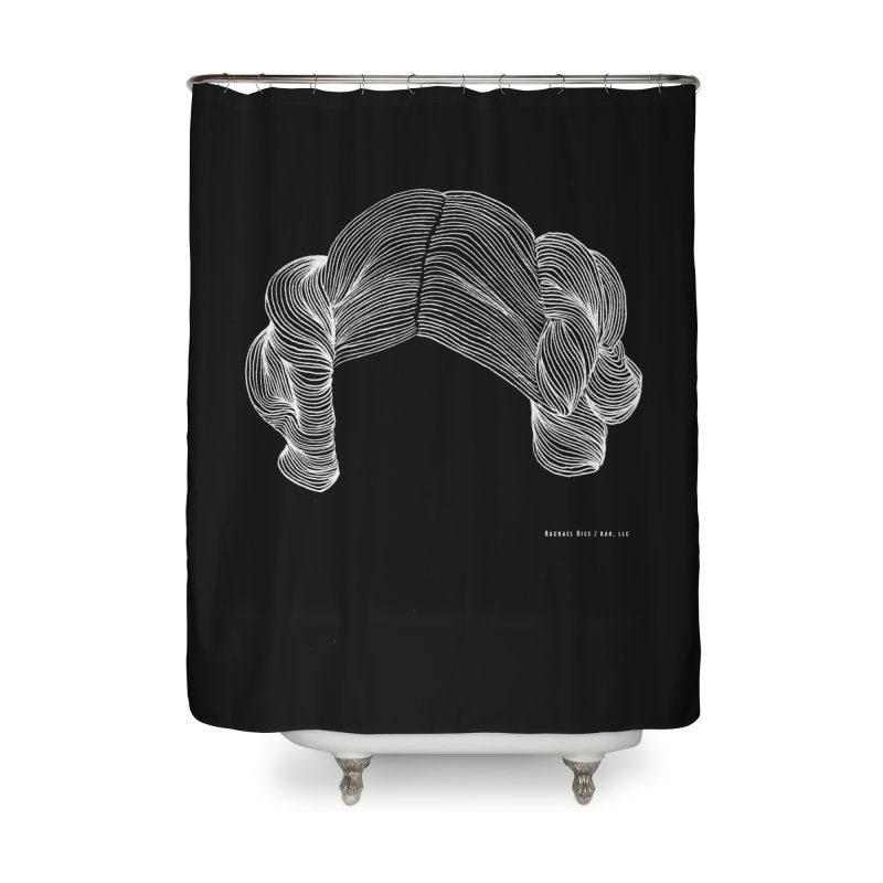 Destroy the Empire B/W Home Shower Curtain by Revolution Art Offensive