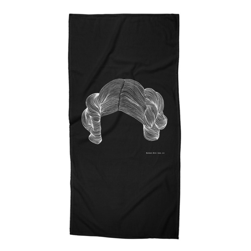 Destroy the Empire B/W Accessories Beach Towel by Revolution Art Offensive