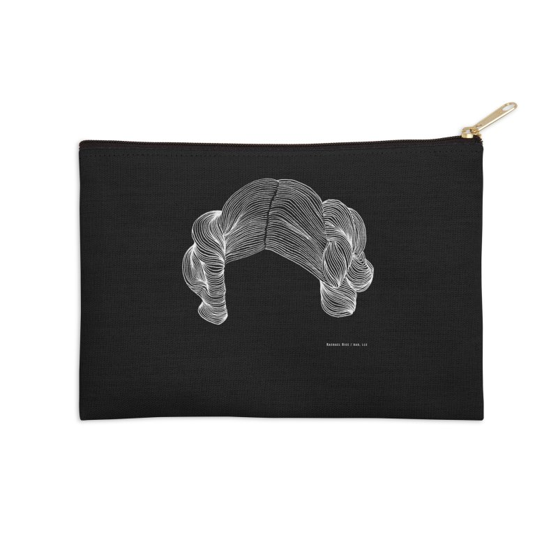 Destroy the Empire B/W Accessories Zip Pouch by Revolution Art Offensive