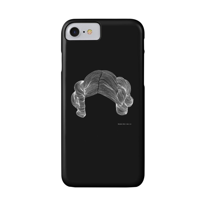 Destroy the Empire B/W in iPhone 7 Phone Case Slim by Revolution Art Offensive