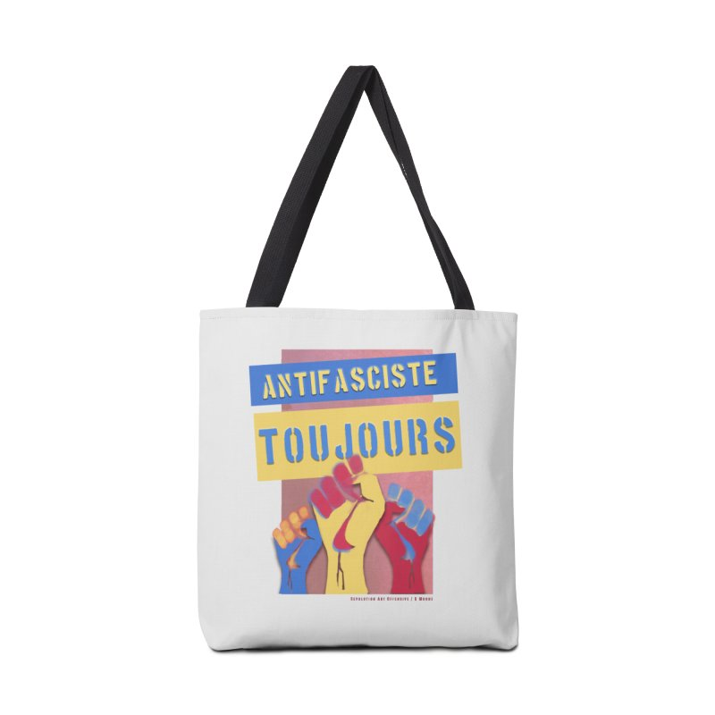 Antifasciste Toujours F/C Accessories Bag by Revolution Art Offensive