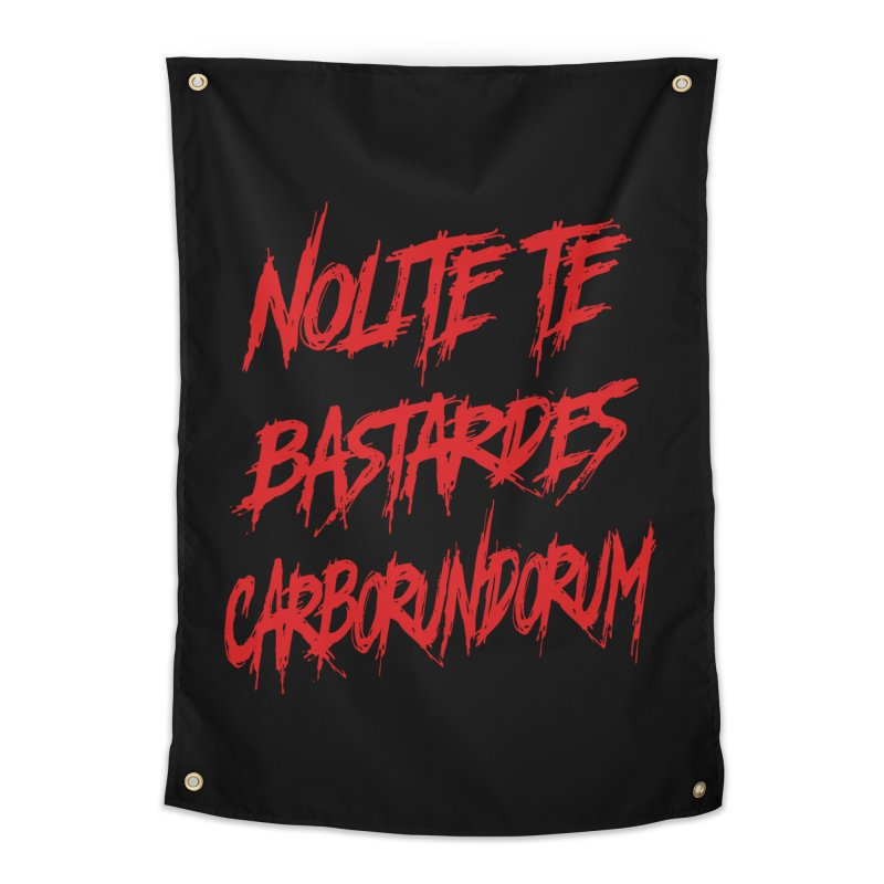 Nolite Te Bastardes RED Handmaid's Tale Home Tapestry by Revolution Art Offensive