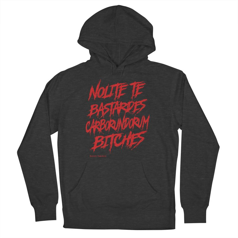 Nolite Te Bastardes Bitches Handmaid'sTale ReproRights RED Men's Pullover Hoody by Revolution Art Offensive