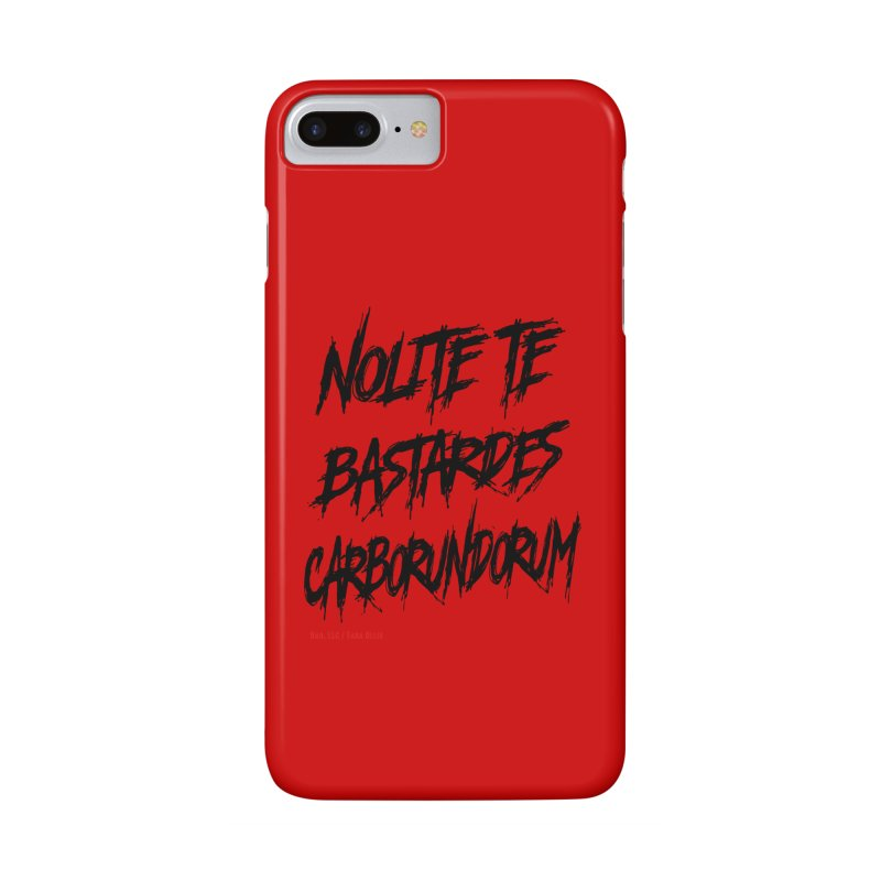 Nolite Te Bastardes Black Handmaid's Tale ReproHealth Accessories Phone Case by Revolution Art Offensive