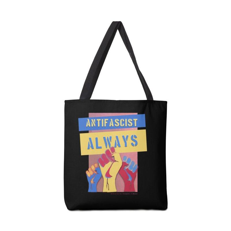 Antifascist Always: English Accessories Bag by Revolution Art Offensive