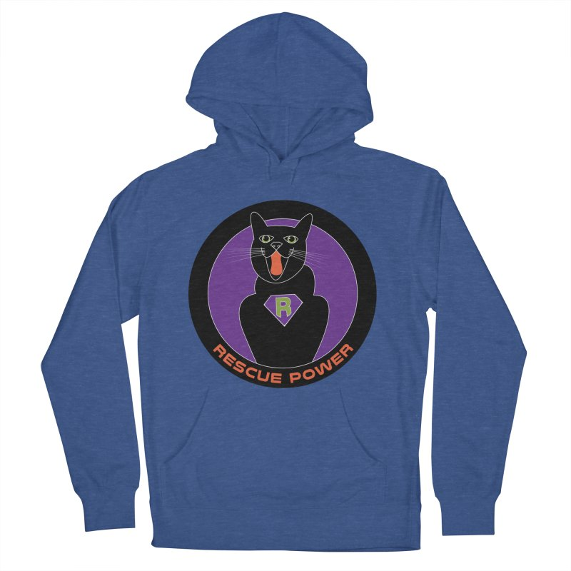 Rescue Power ACTIVATE Cat Houston Hurricane Men's Pullover Hoody by Revolution Art Offensive