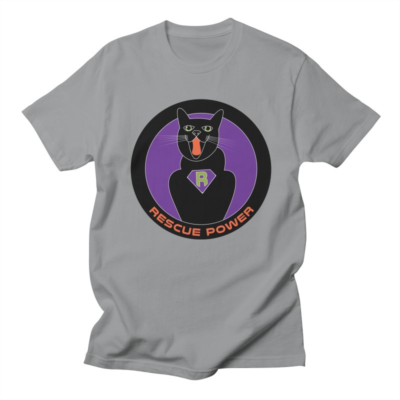 Rescue Power ACTIVATE Cat Houston Hurricane Men's T-shirt by Revolution Art Offensive