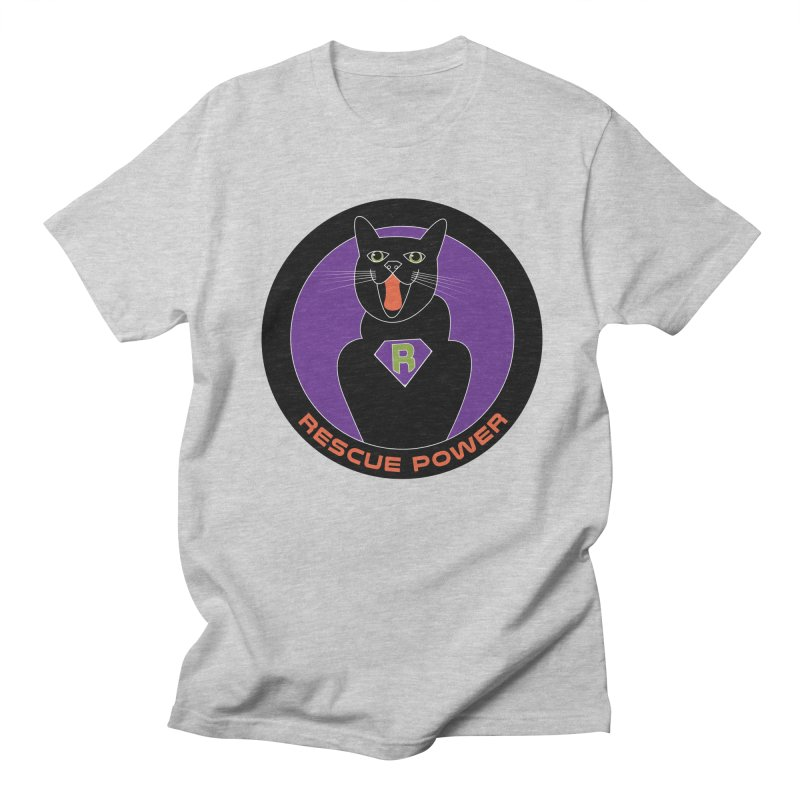 Rescue Power ACTIVATE Cat Houston Hurricane Women's Unisex T-Shirt by Revolution Art Offensive