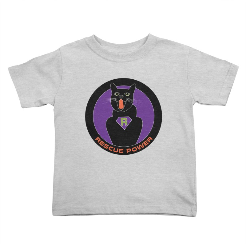 Rescue Power ACTIVATE Cat Houston Hurricane Kids Toddler T-Shirt by Revolution Art Offensive