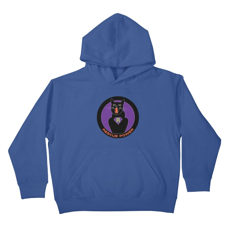 Rescue Power ACTIVATE Cat Houston Hurricane Kids Pullover Hoody by Revolution Art Offensive