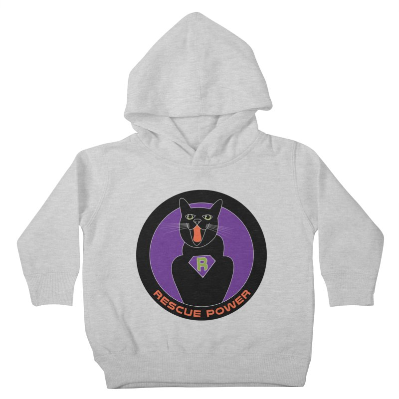 Rescue Power ACTIVATE Cat Houston Hurricane Kids Toddler Pullover Hoody by Revolution Art Offensive