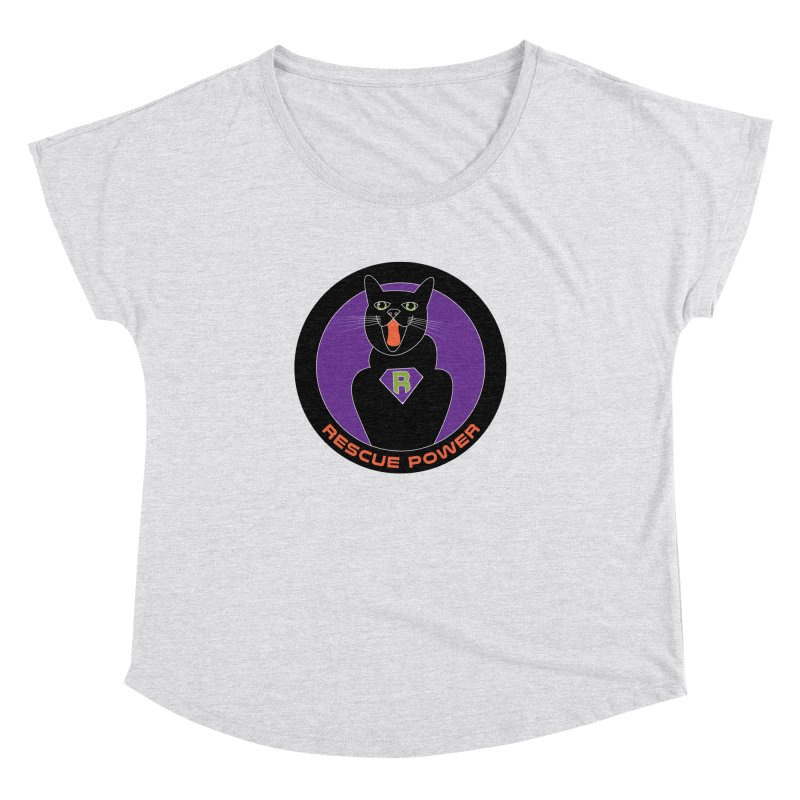 Rescue Power ACTIVATE Cat Houston Hurricane Women's Dolman by Revolution Art Offensive
