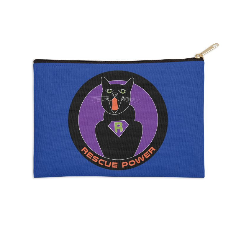 Rescue Power ACTIVATE Cat Houston Hurricane Accessories Zip Pouch by Revolution Art Offensive