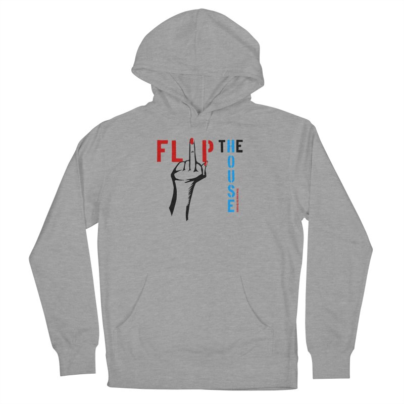 Flip The House 2018 Democrats Will Crush You Black Men's Pullover Hoody by Revolution Art Offensive