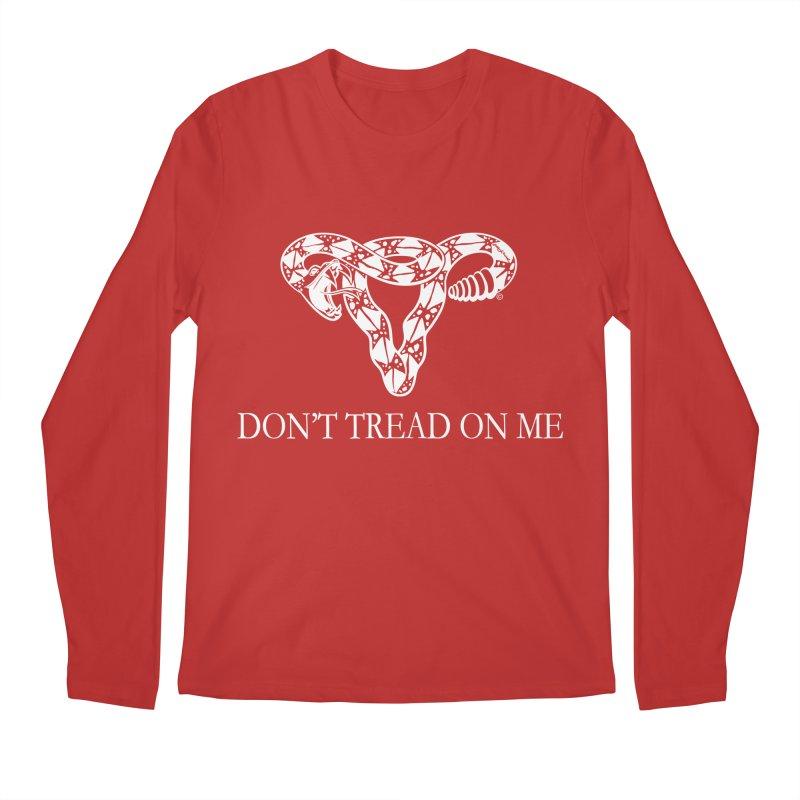 Don't Tread On Me Rattlesnake Men's Longsleeve T-Shirt by Revolution Art Offensive