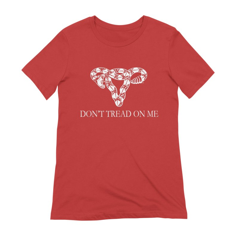 Don't Tread On Me Rattlesnake Women's Extra Soft T-Shirt by Revolution Art Offensive