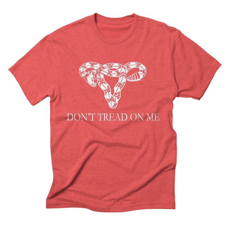 Don't Tread On Me Rattlesnake Men's Triblend T-Shirt by Revolution Art Offensive