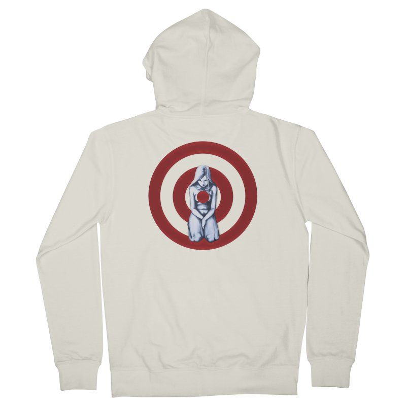Marked - Get Your Sights Off My Rights Men's Zip-Up Hoody by Revolution Art Offensive