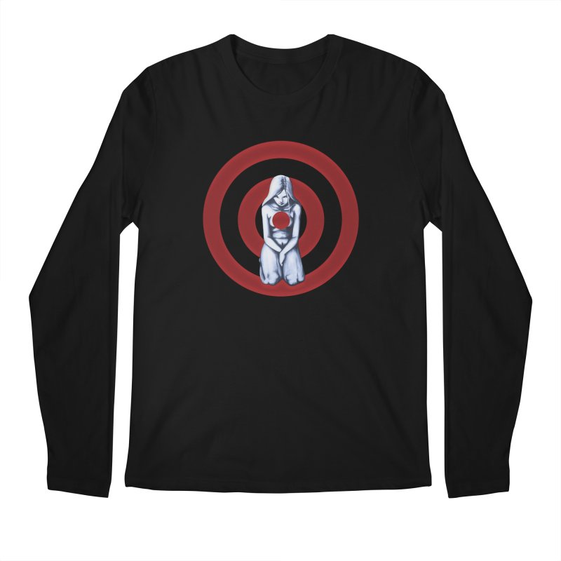 Marked - Get Your Sights Off My Rights Men's Longsleeve T-Shirt by Revolution Art Offensive