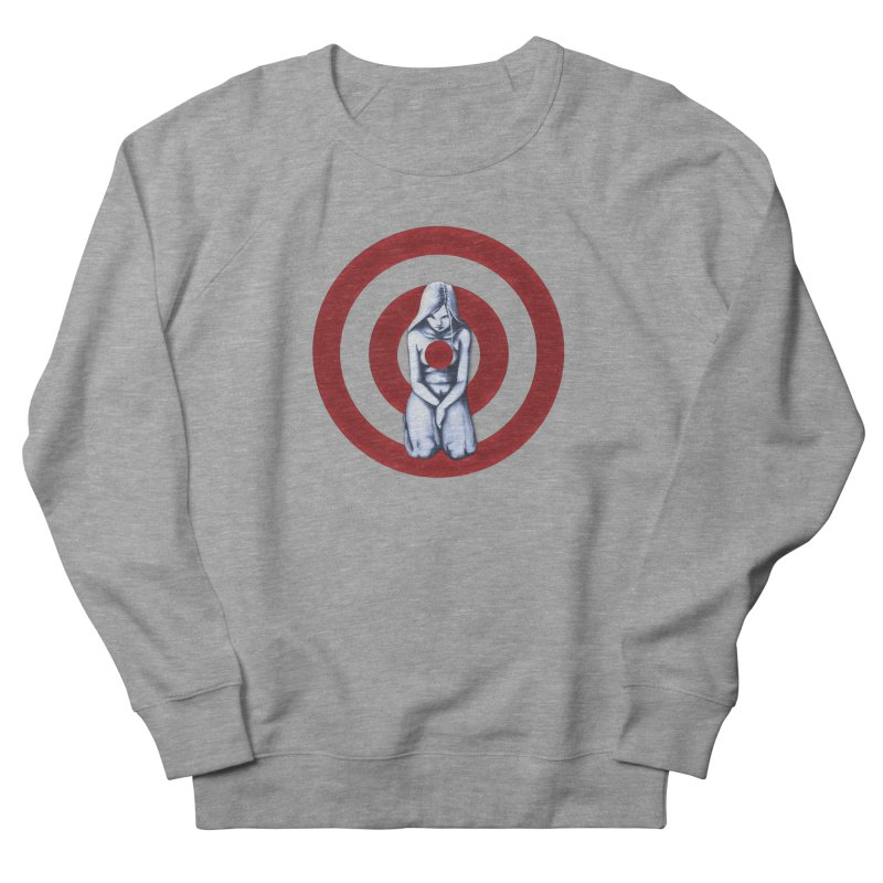 Marked - Get Your Sights Off My Rights Women's Sweatshirt by Revolution Art Offensive