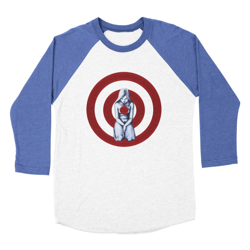 Marked - Get Your Sights Off My Rights Women's Baseball Triblend T-Shirt by Revolution Art Offensive