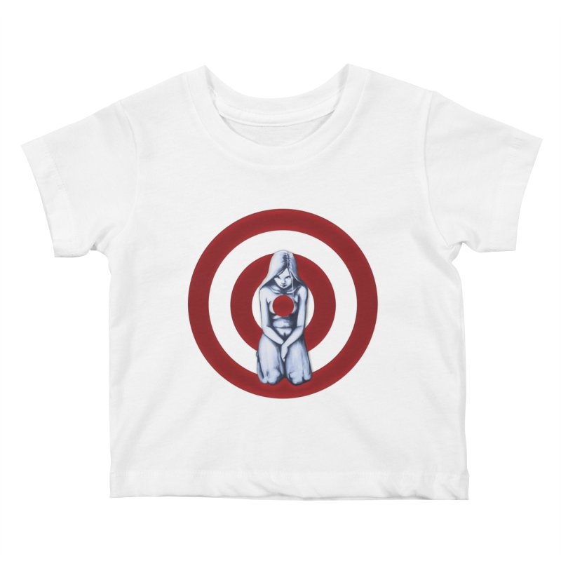 Marked - Get Your Sights Off My Rights Kids Baby T-Shirt by Revolution Art Offensive