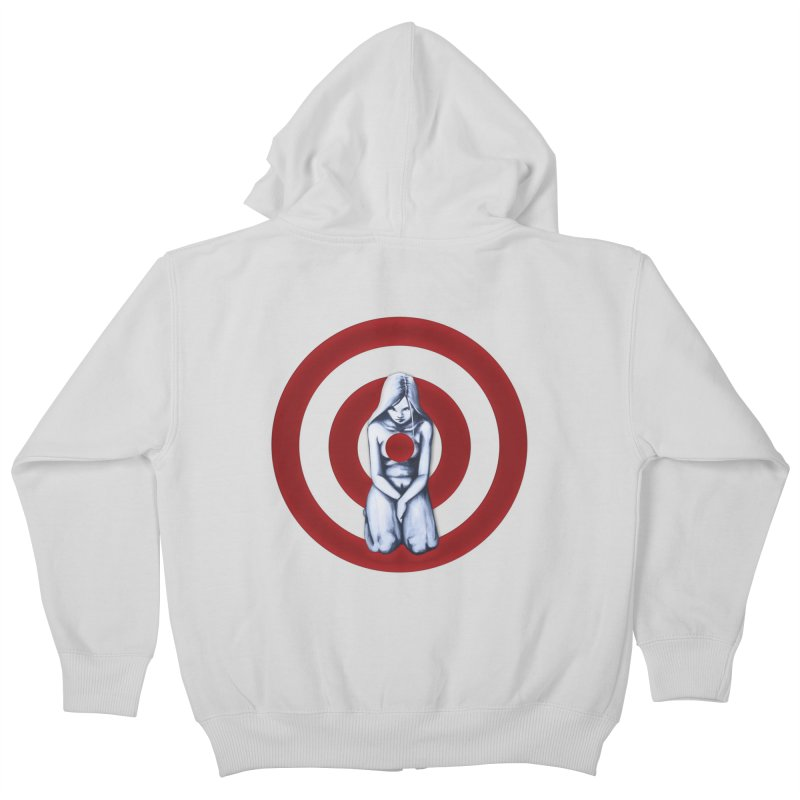 Marked - Get Your Sights Off My Rights Kids Zip-Up Hoody by Revolution Art Offensive