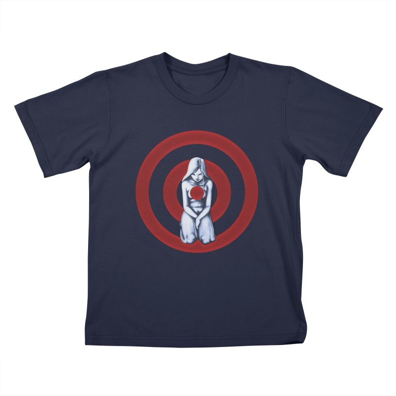Marked - Get Your Sights Off My Rights Kids T-Shirt by Revolution Art Offensive