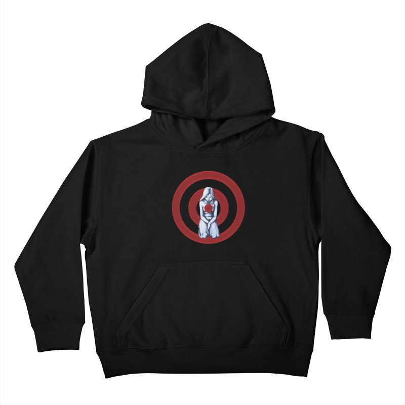 Marked - Get Your Sights Off My Rights Kids Pullover Hoody by Revolution Art Offensive