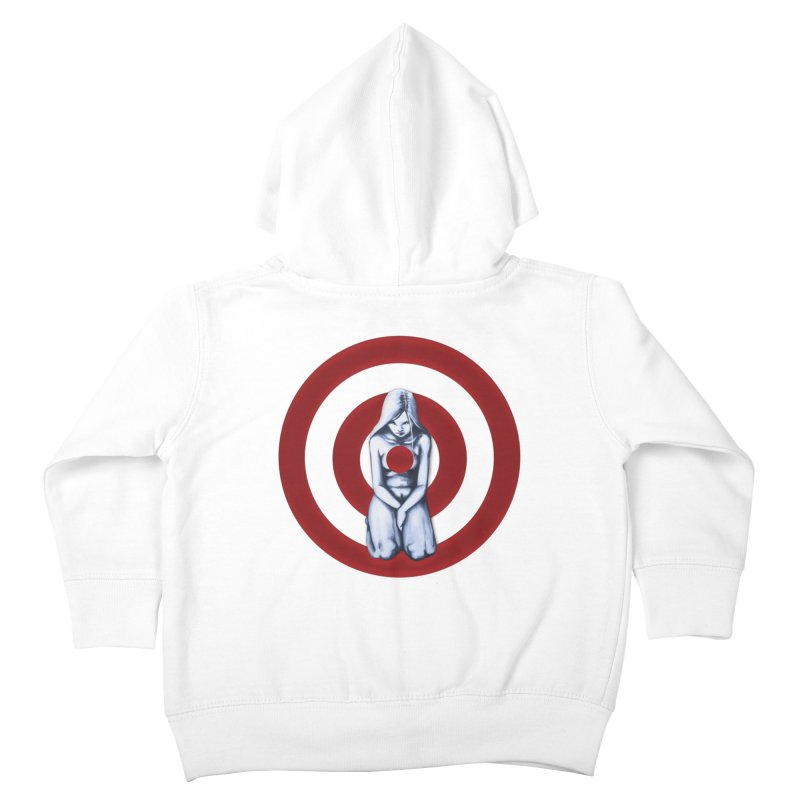 Marked - Get Your Sights Off My Rights Kids Toddler Zip-Up Hoody by Revolution Art Offensive