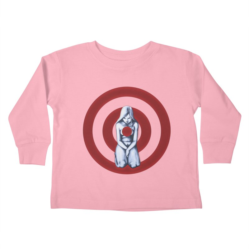 Marked - Get Your Sights Off My Rights Kids Toddler Longsleeve T-Shirt by Revolution Art Offensive