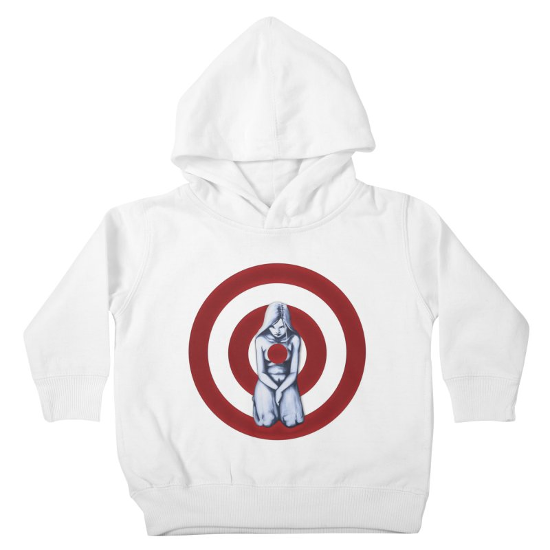 Marked - Get Your Sights Off My Rights Kids Toddler Pullover Hoody by Revolution Art Offensive