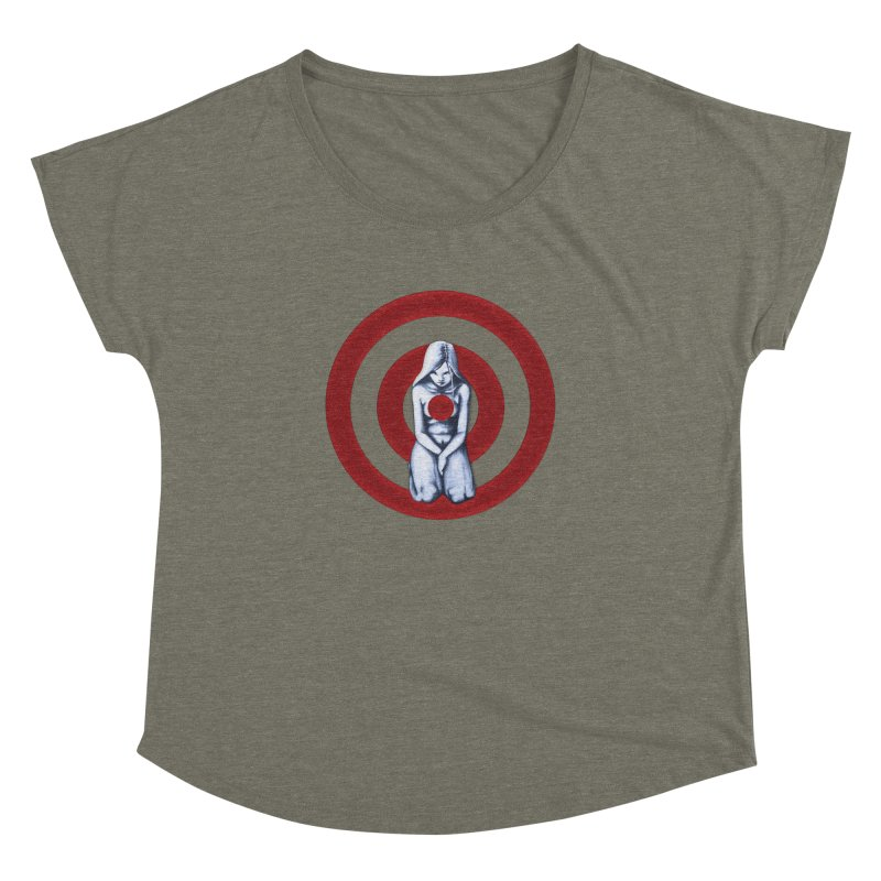 Marked - Get Your Sights Off My Rights Women's Dolman by Revolution Art Offensive